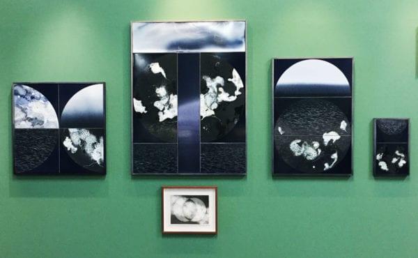 Skillinge Emalj visar Maria Harrysson påsken 2017 konst i emalj