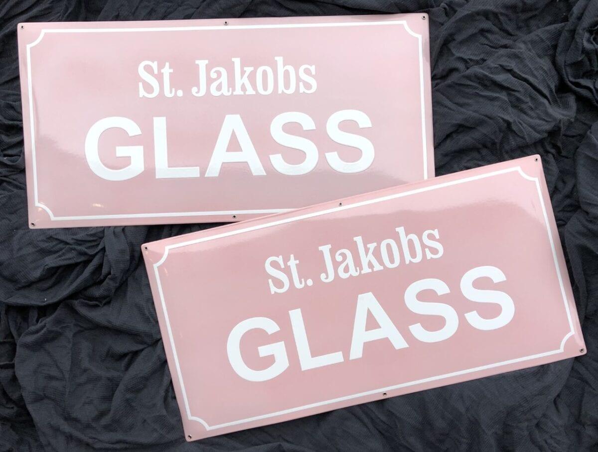 Emaljskylt-st.jakobs-glass